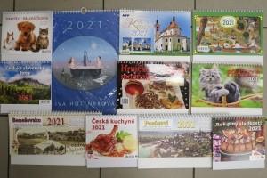 Kalendáře 2021